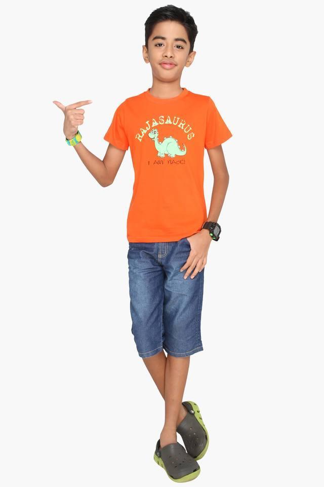 Character Printed Boy's T-shirt