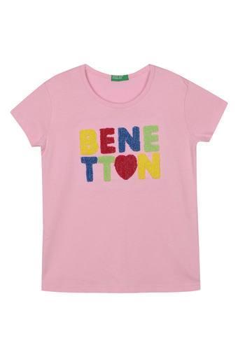 UNITED COLORS OF BENETTON -  PinkTopwear - Main