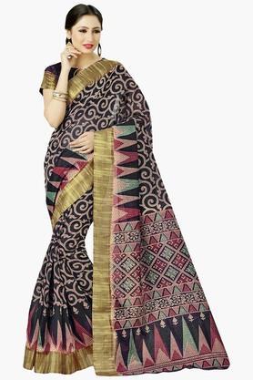 DEMARCAWomens Silk Designer Saree - 202338128