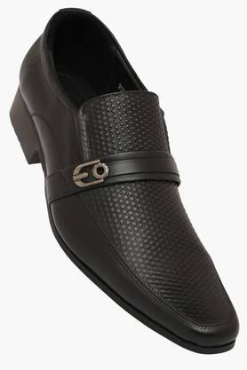 Mens Leather Slip On Loafers - 202336630