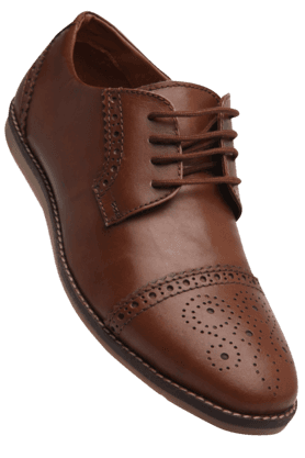 ALLEN SOLLY Mens Leather Smart Formal Shoe