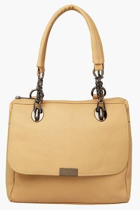 FEMINA FLAUNT Womens Zipper Closure Satchel