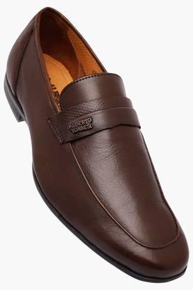 ALBERTO TORRESIMens Leather Slipon Loafers - 202951422
