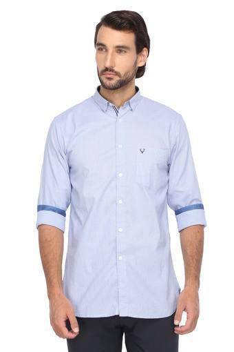 ALLEN SOLLY -  Light BlueShirts - Main