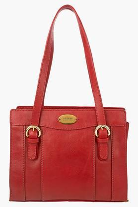 HIDESIGN Womens Snap & Zipper Closure Shoulder Bag