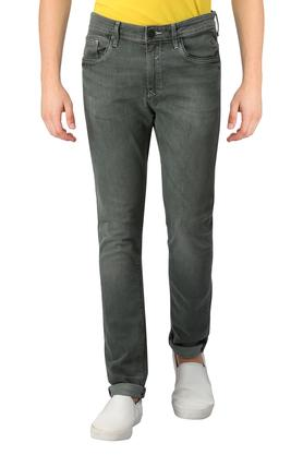 Mens Ultra Slim Fit Rinse Wash Jeans
