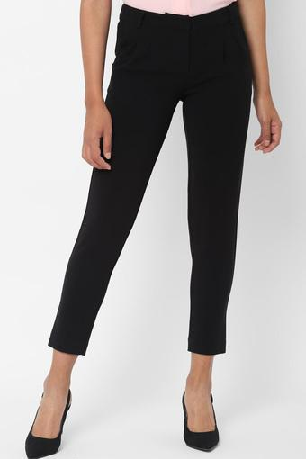 ALLEN SOLLY -  Black Trousers & Pants - Main