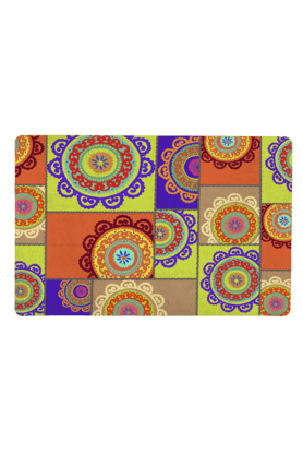 SKIPPER Multicolour PVC Table Mat (Set Of 2)