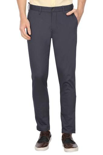 LOUIS PHILIPPE SPORTS -  Navy Cargos & Trousers - Main