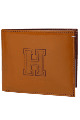 TOMMY HILFIGERMens Royalton Leather 1 Fold Wallet