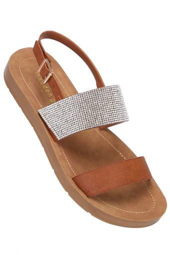 STEVE MADDEN -  Brown Floaters & Flip Flops - Main