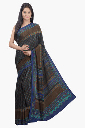 JASHN Womens Printed Saree - 201502719