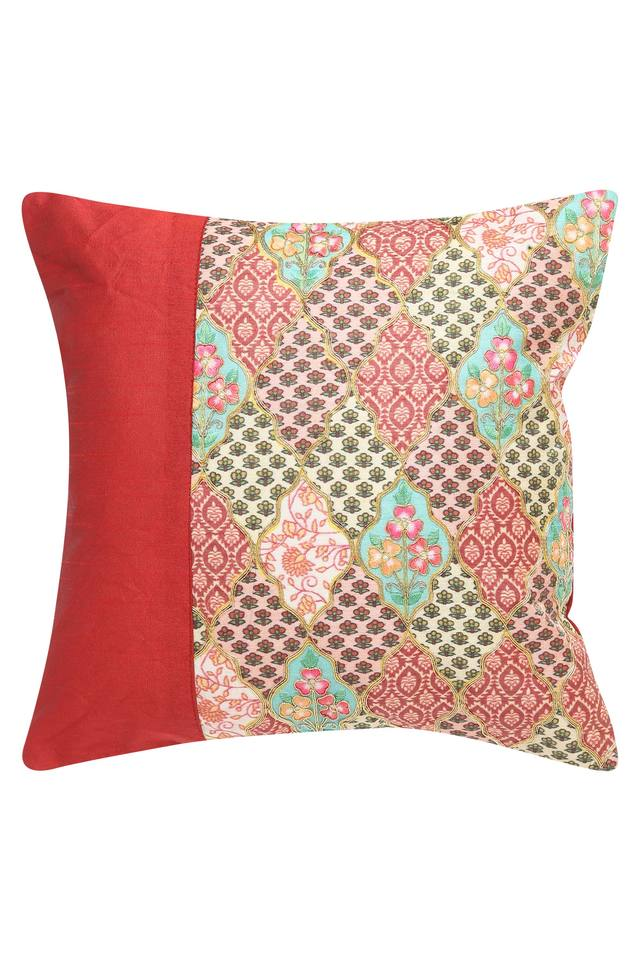 IVY - Red MixCushion Cover - Main