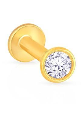MALABAR GOLD AND DIAMONDSWomens Diamond Nosepin UINSP00438