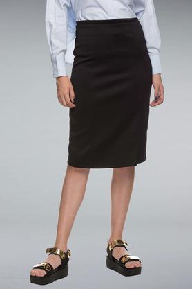 RHESONWomen Solid Skirt