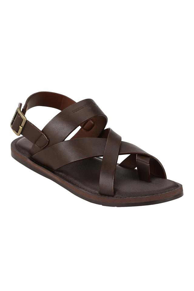 RED TAPE - Brown Sandals & Floaters - Main