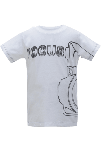 Upto 60% Off On Kids Clothing By Shoppersstop | UFO Boys Round Neck T- Shirt @ Rs.179