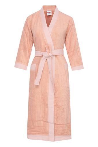 Slub Textured Exotica Rib Bath Robe