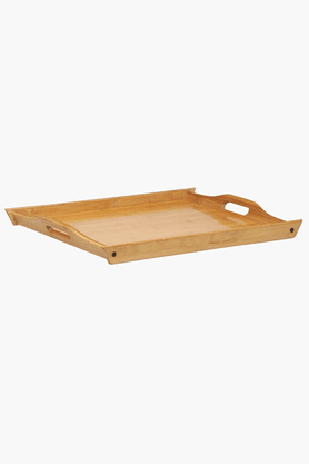 BACK TO EARTH Bamboo Tray (Set Of 3)