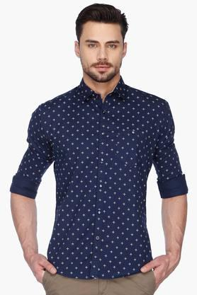 Killer Formal Shirts (Men's) - Mens  Lean Fit Printed Shirt