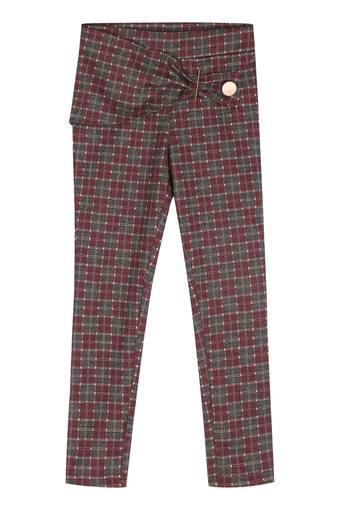 TINY GIRL -  MaroonBottomwear - Main