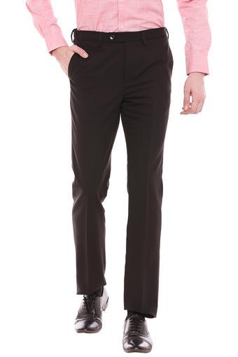 C337 -  BrownFormal Trousers - Main
