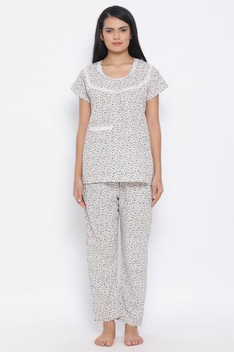 CLOVIA -  WhiteLoungewear - Main
