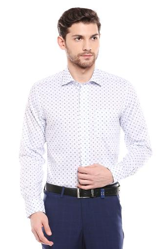 C460 -  WhiteFormal Shirts - Main