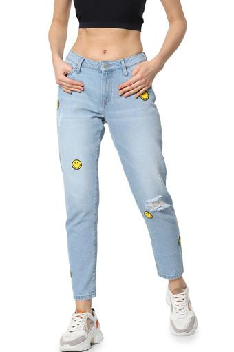 ONLY -  Vintage Blue Jeans & Leggings - Main