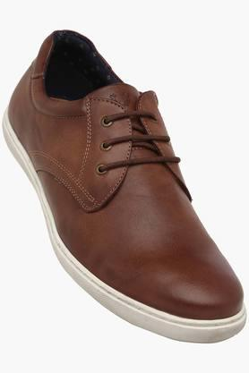 ALLEN SOLLY Mens Leather Lace Up Casual Shoes - 201990764_9124