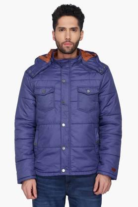 LEVIS Mens Solid Hooded Jacket