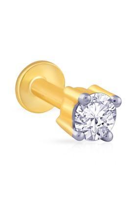 MALABAR GOLD AND DIAMONDSWomens Mine Diamond Nosepin NP51052