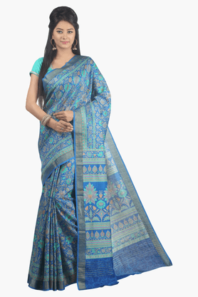 JASHN Womens Printed Saree - 201502588