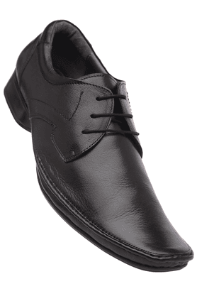 VETTORIO FRATINI Mens Black Formal Leather Lace Up Shoe