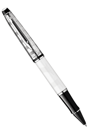 Expert Deluxe White Ct Rb Pen