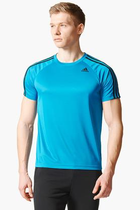 ADIDAS Mens Round Neck Solid T-Shirt - 202705977