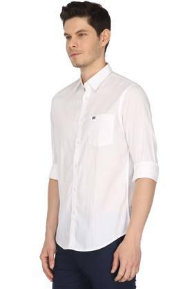 Mens Regular Collar Solid Shirt