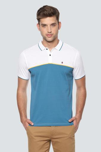 LOUIS PHILIPPE SPORTS -  Blue T-Shirts & Polos - Main