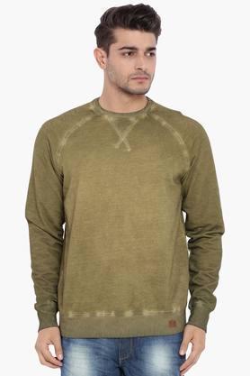 BLUE SAINTMens Dried Herb Green Sweatshirt