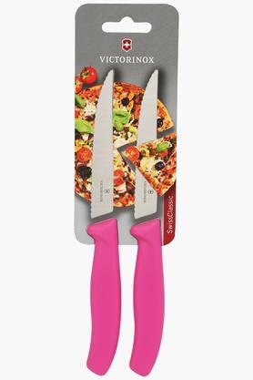 VICTORINOX Kitchen Stainless Steel Serrated Pizza Knife Set Of 2