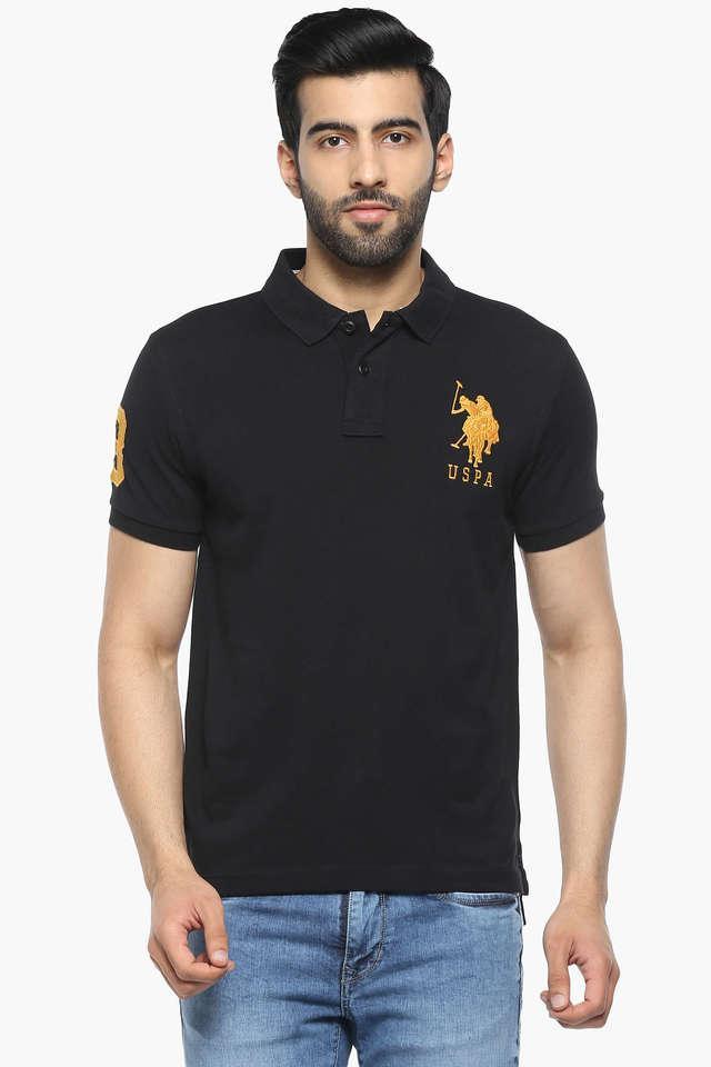 U.S. POLO ASSN. - BlackT-Shirts & Polos - Main