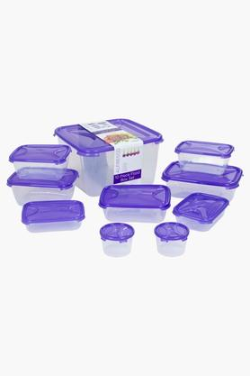 WHATMORE Airtight Food Storage Box With Lid Set Of 10