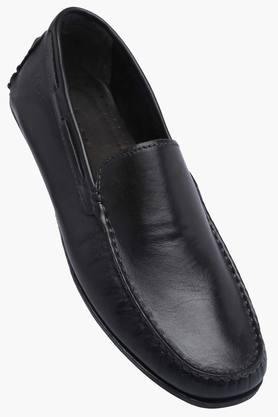 VENTURINI Mens Leather Slipon Smart Formal Shoes
