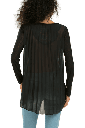 Women Knitted T-shirt Long Sleeves