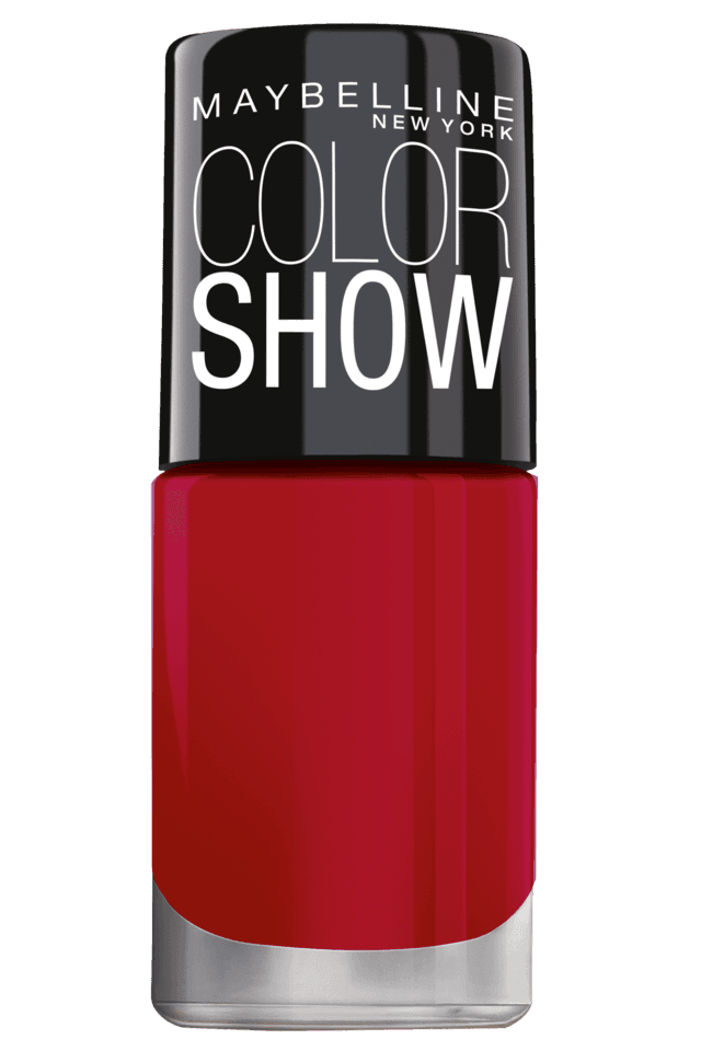 Color Show Bright Sparks Nail Polish Power Of Red 708