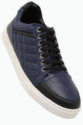 RUOSH Mens Leather Lace Up Casual Shoes