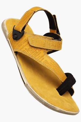 WOODLAND Mens Velcro Closure Casual Sandal