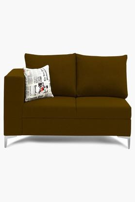 Chocolate Brown Water Repellent Fabric Sofa (2 - Seater)
