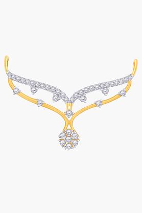 MALABAR GOLD AND DIAMONDSWomens 18 KT Gold And Diamond Tanmaniya - 201203813