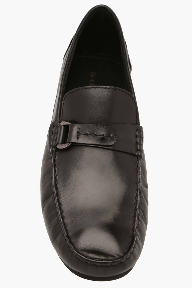 Mens Leather Slipon Smart Formal Shoes